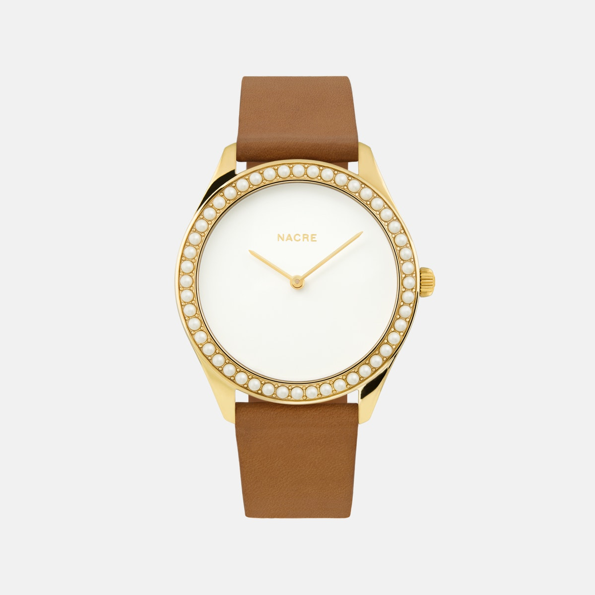 Lune 48 - Gold - Sand Leather
