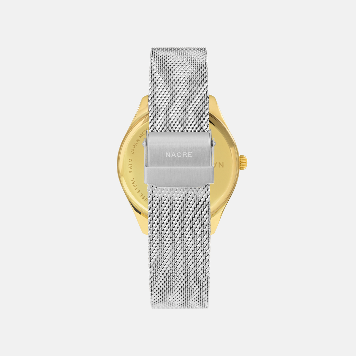Lune 48 - Gold - Stainless Steel Mesh