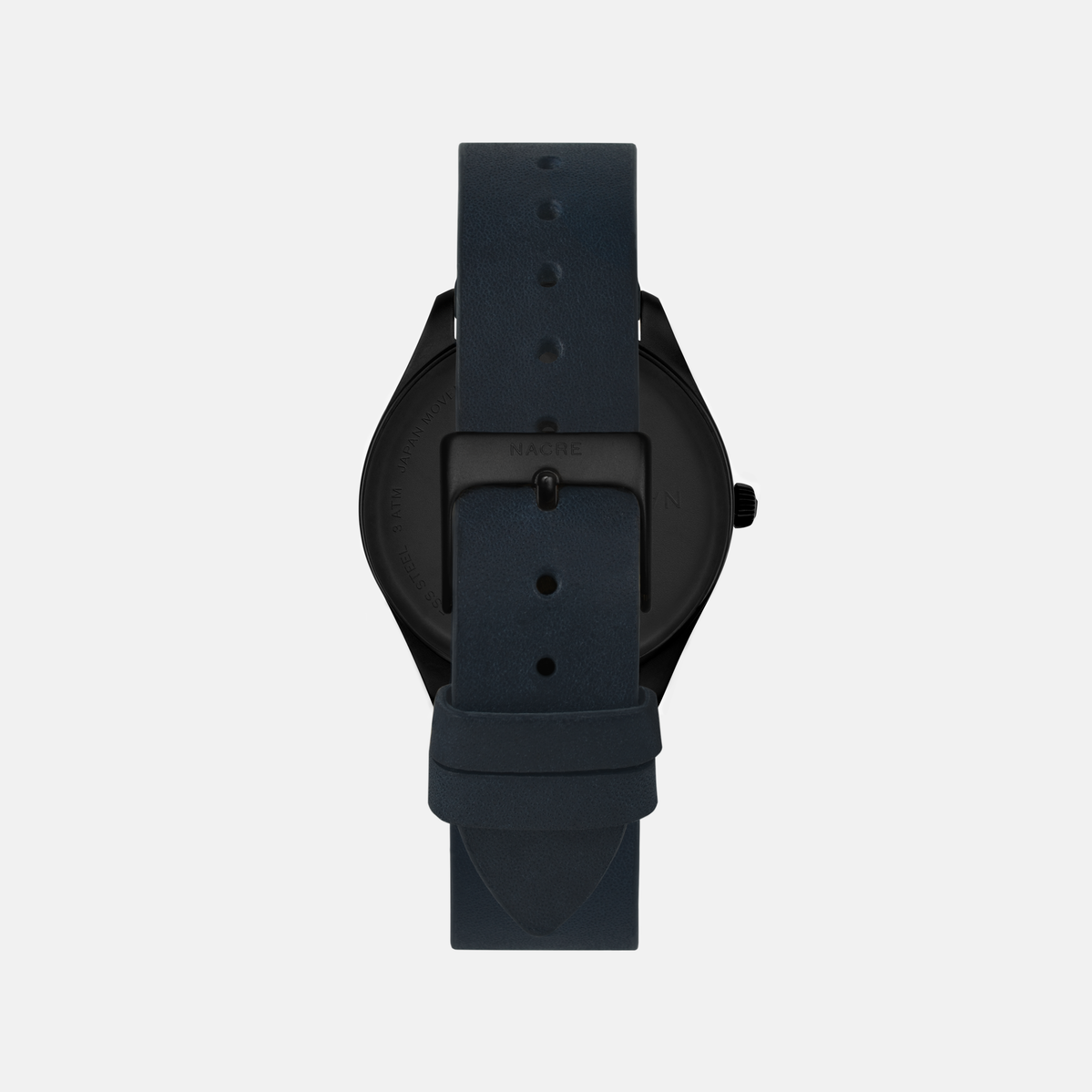 Lune 48 - Matte Black - Sand Leather