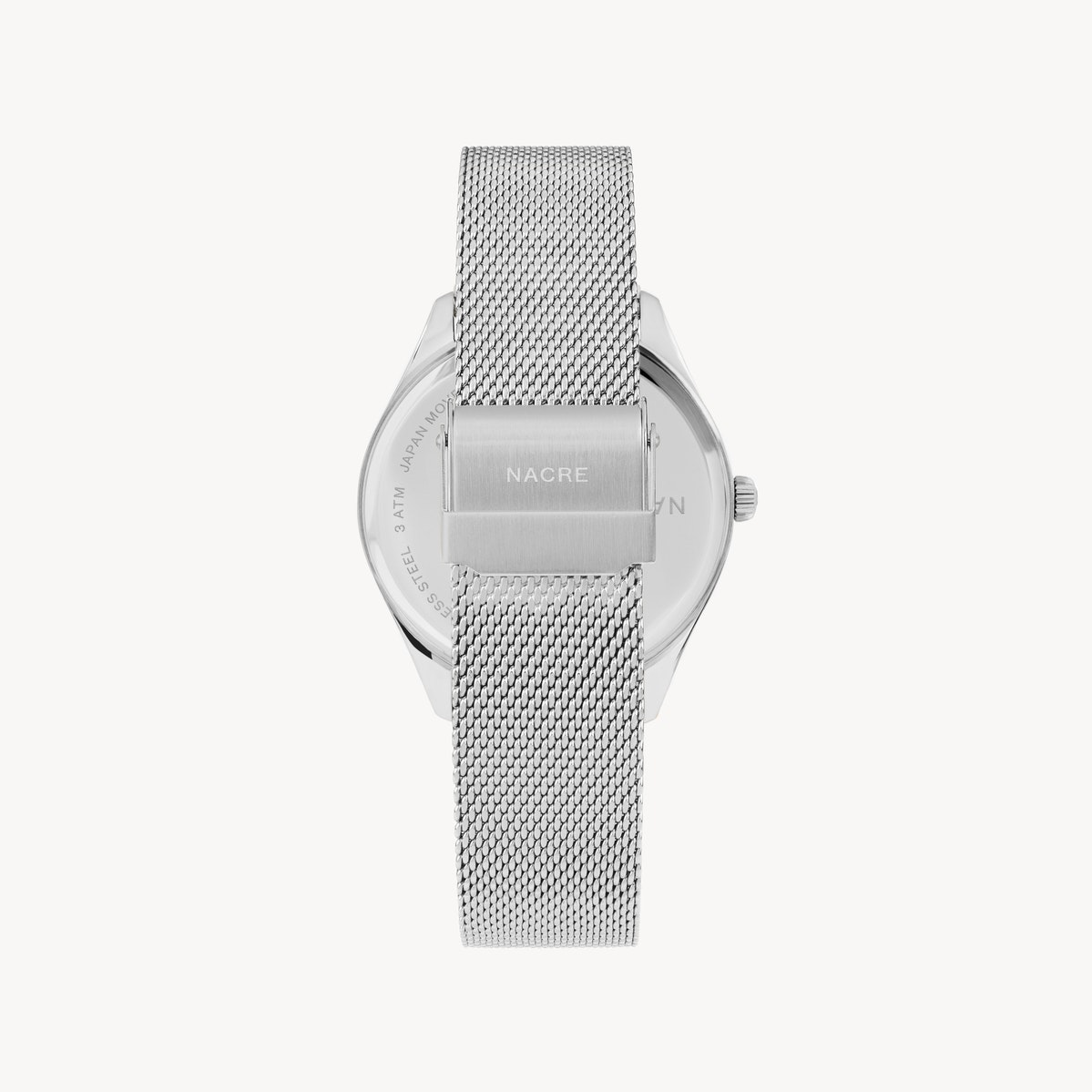 Lune 48 - Stainless Steel - Stainless Steel Mesh