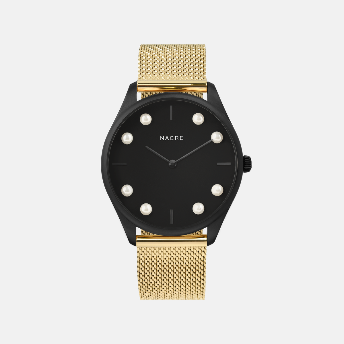 Lune 8 - Matte Black - Natural Leather