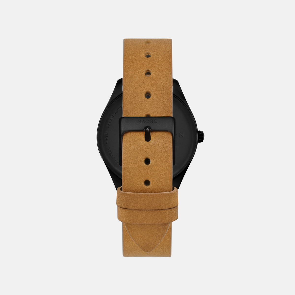 Lune 8 - Matte Black - Saddle Leather