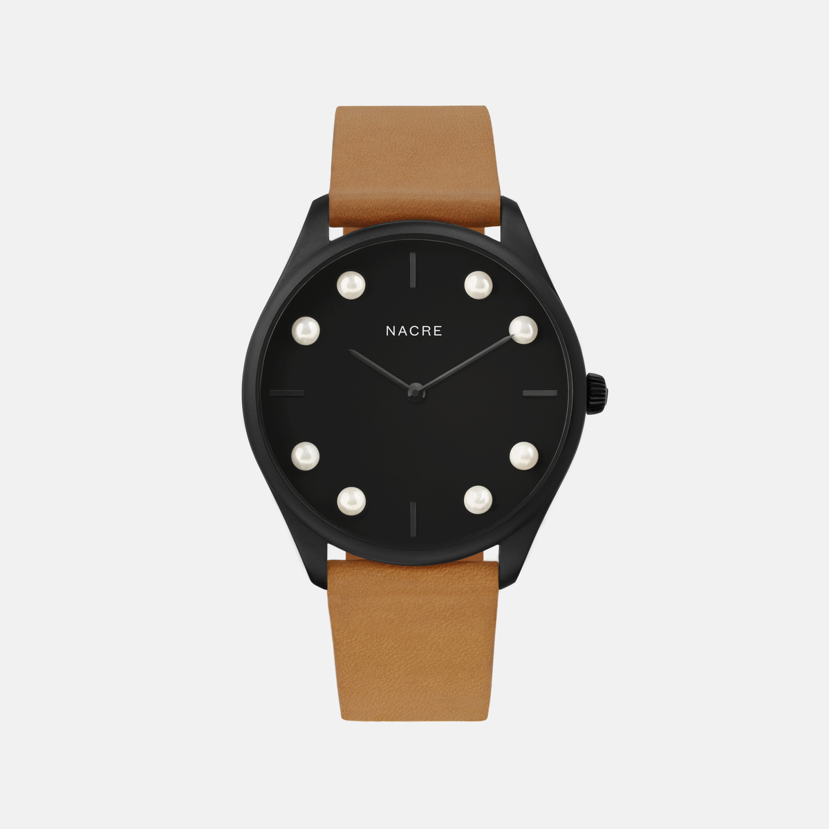 Lune 8 - Matte Black - Navy Leather