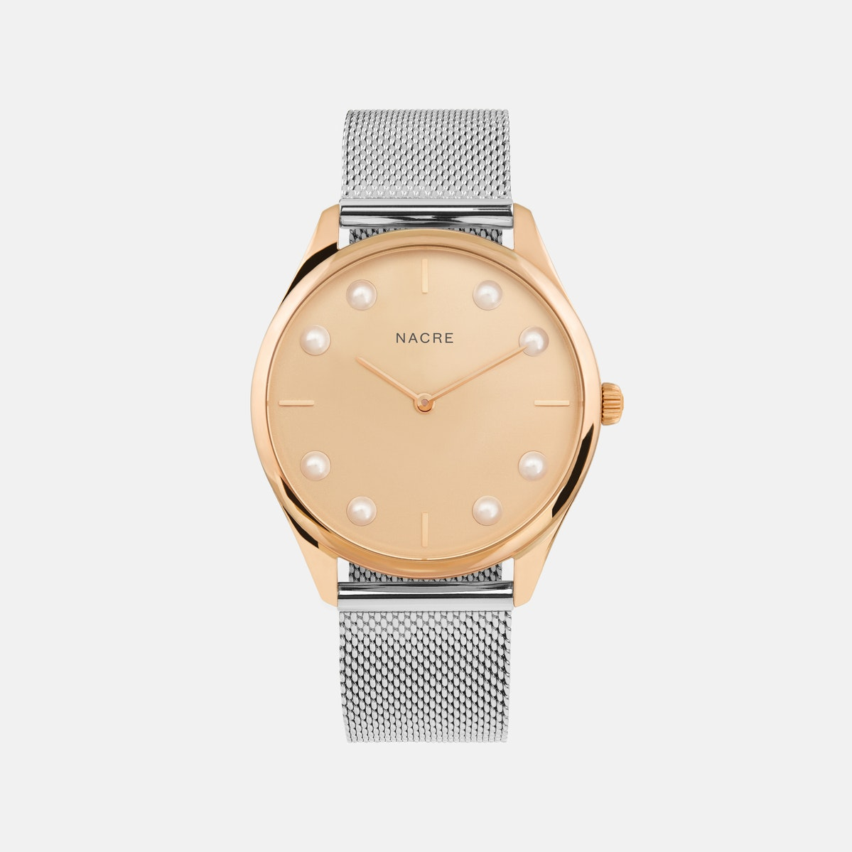 Lune 8 - Rose Gold - Sand Leather