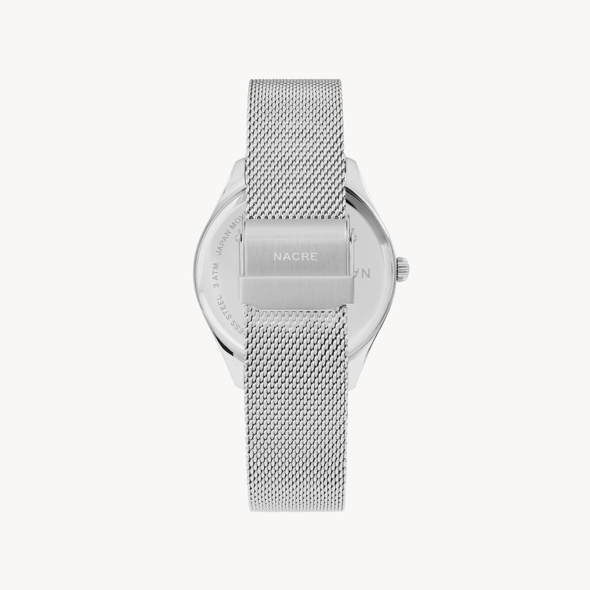 Lune 8 - Stainless Steel - Stainless Steel Mesh