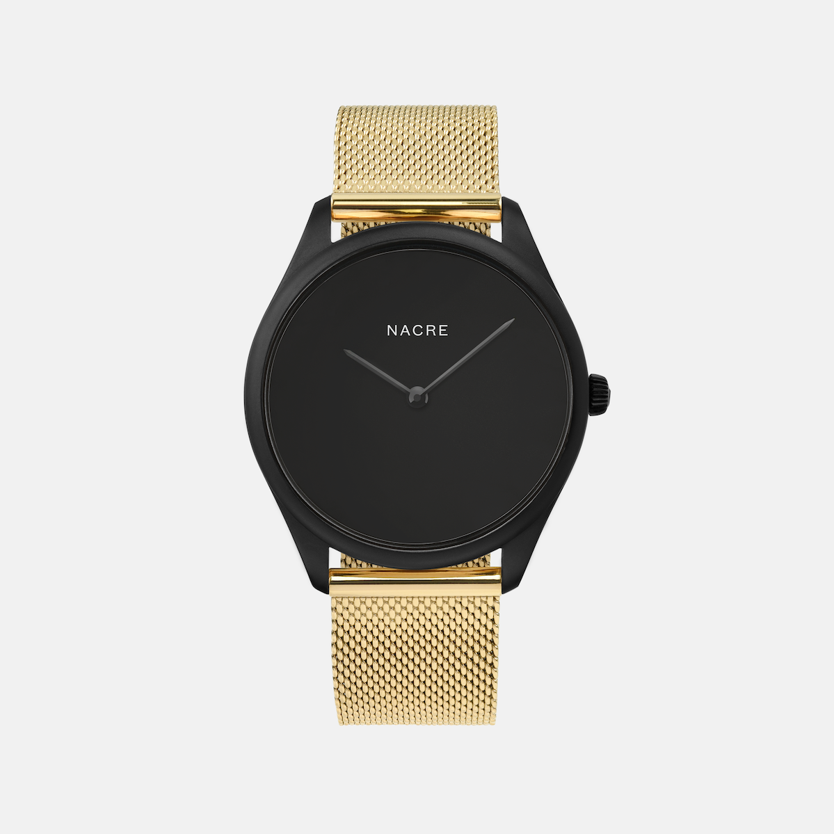Lune Eclipse - Matte Black - Gold Mesh