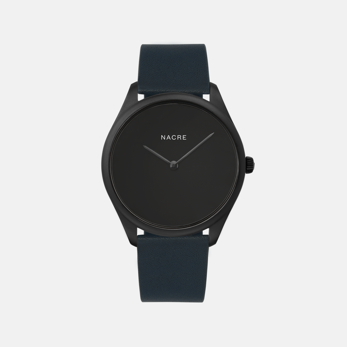 Lune Eclipse - Matte Black - Black Leather