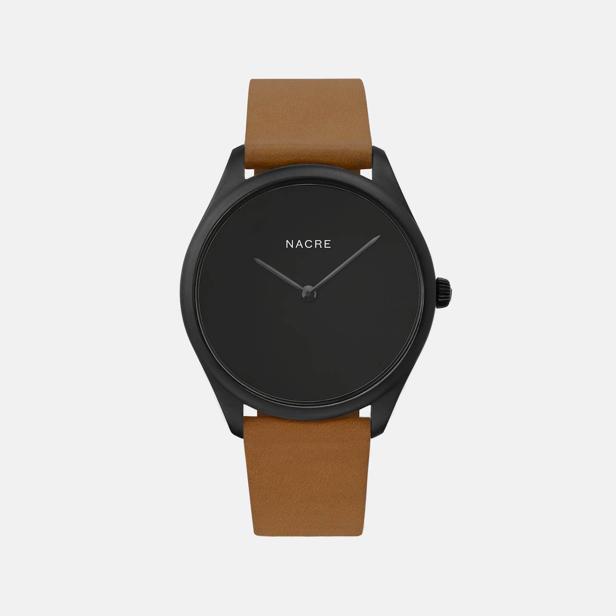 Lune Eclipse - Matte Black - Sand Leather