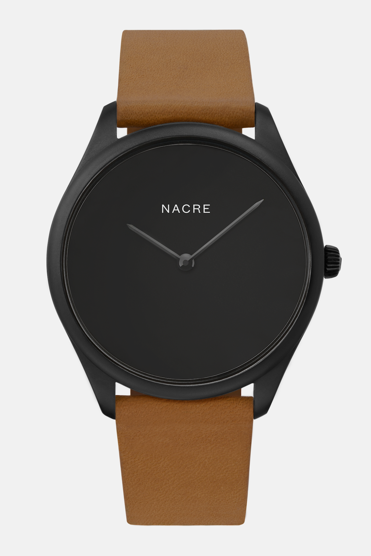 Lune Eclipse - Matte Black - Saddle Leather