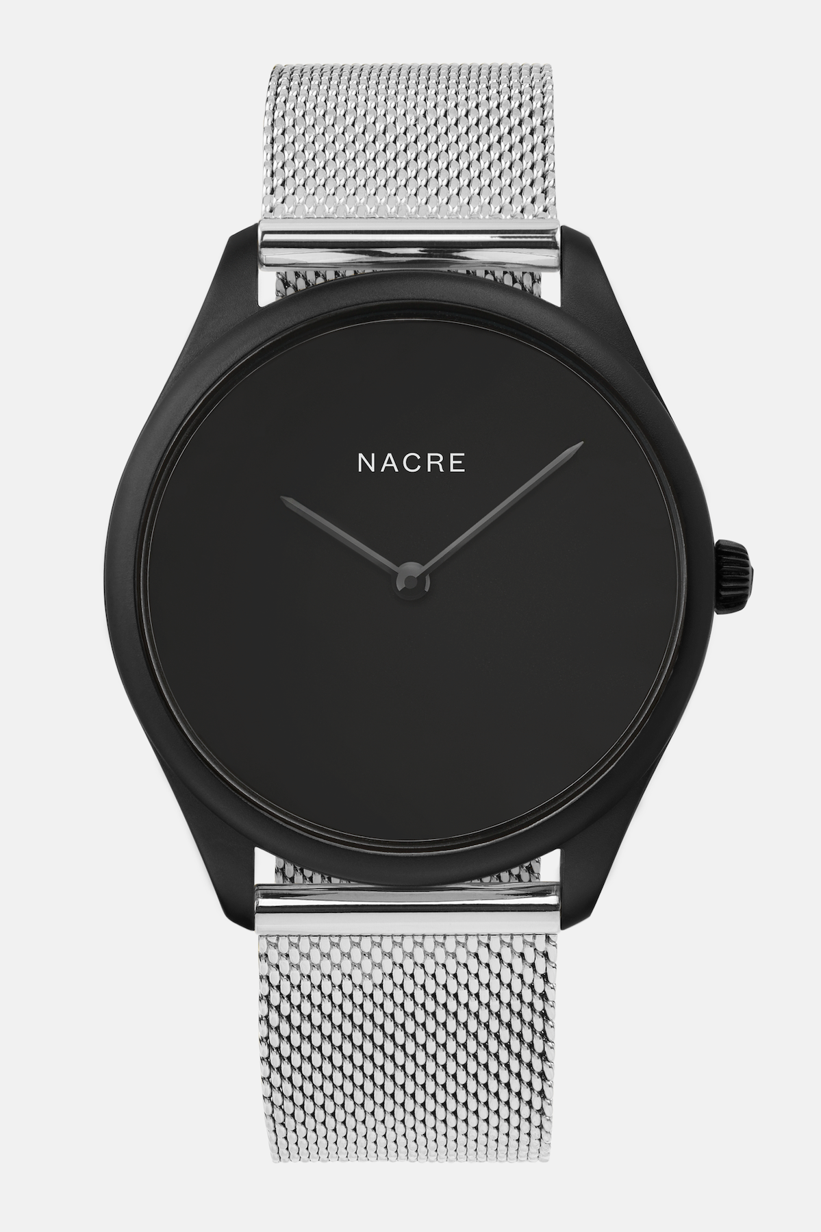 Lune Eclipse - Matte Black - Stainless Steel Mesh