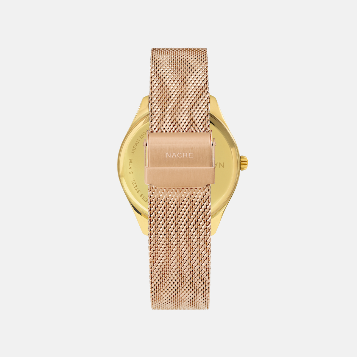 Lune - Gold - Rose Gold Mesh