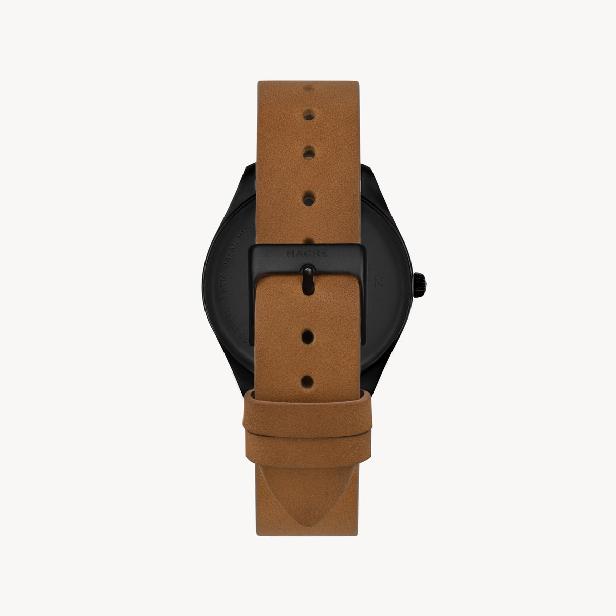 Lune - Matte Black - Saddle Leather