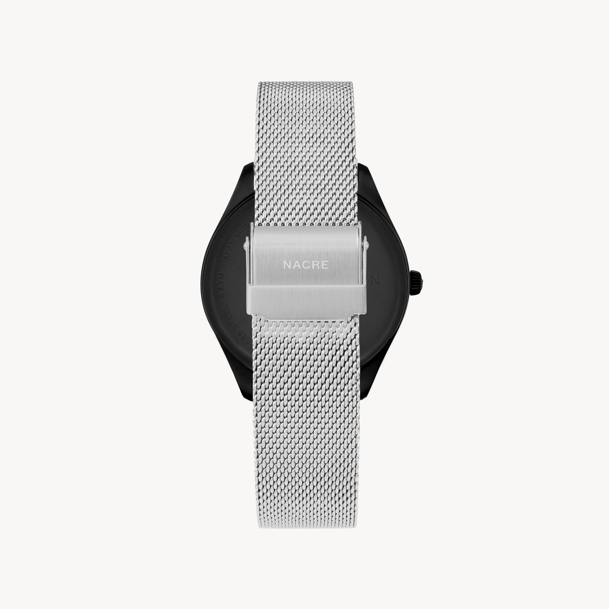 Lune - Matte Black - Stainless Steel Mesh