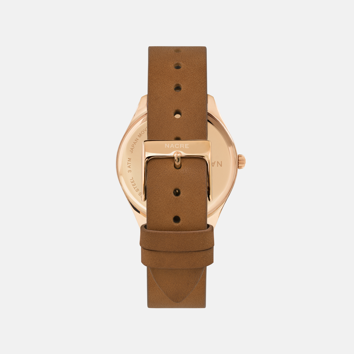 Lune - Rose Gold - Sand Leather