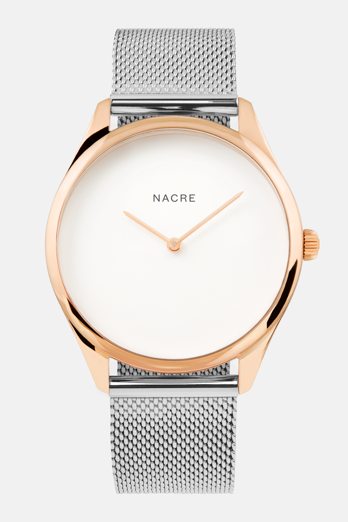 Lune - Rose Gold - Stainless Steel Mesh