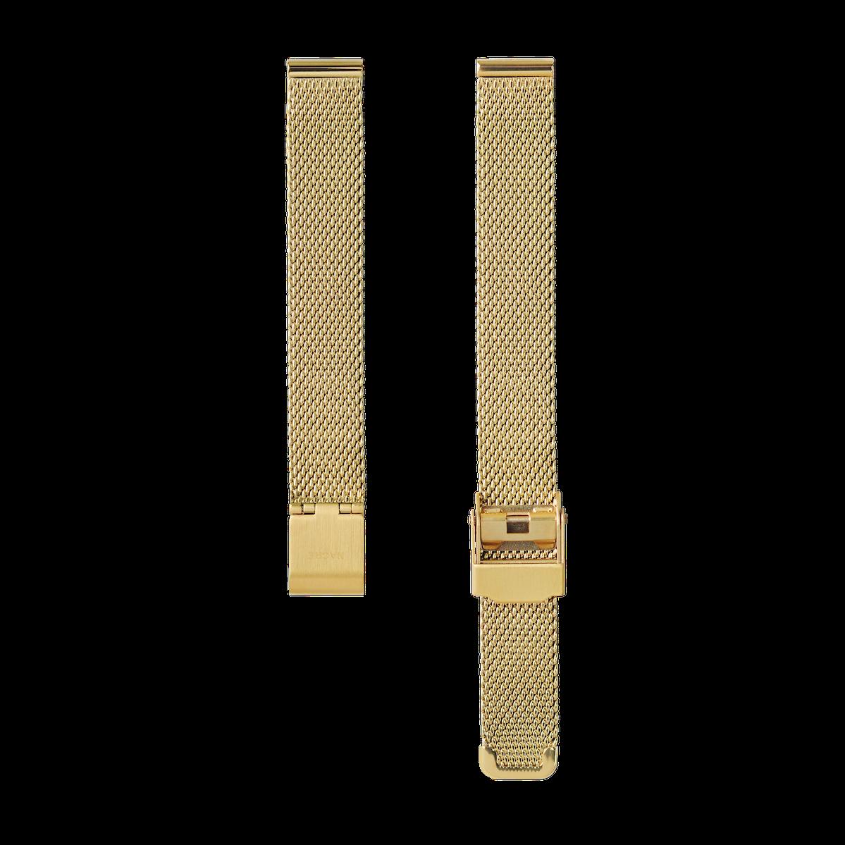 Strap - Mesh - Gold - 12mm