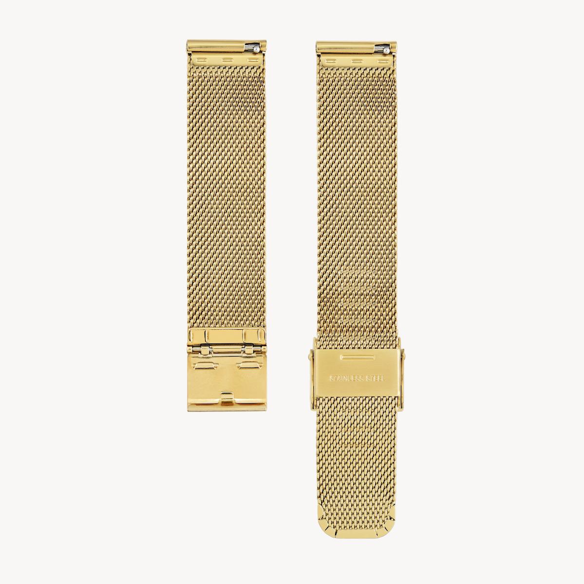 Strap - Mesh - Gold