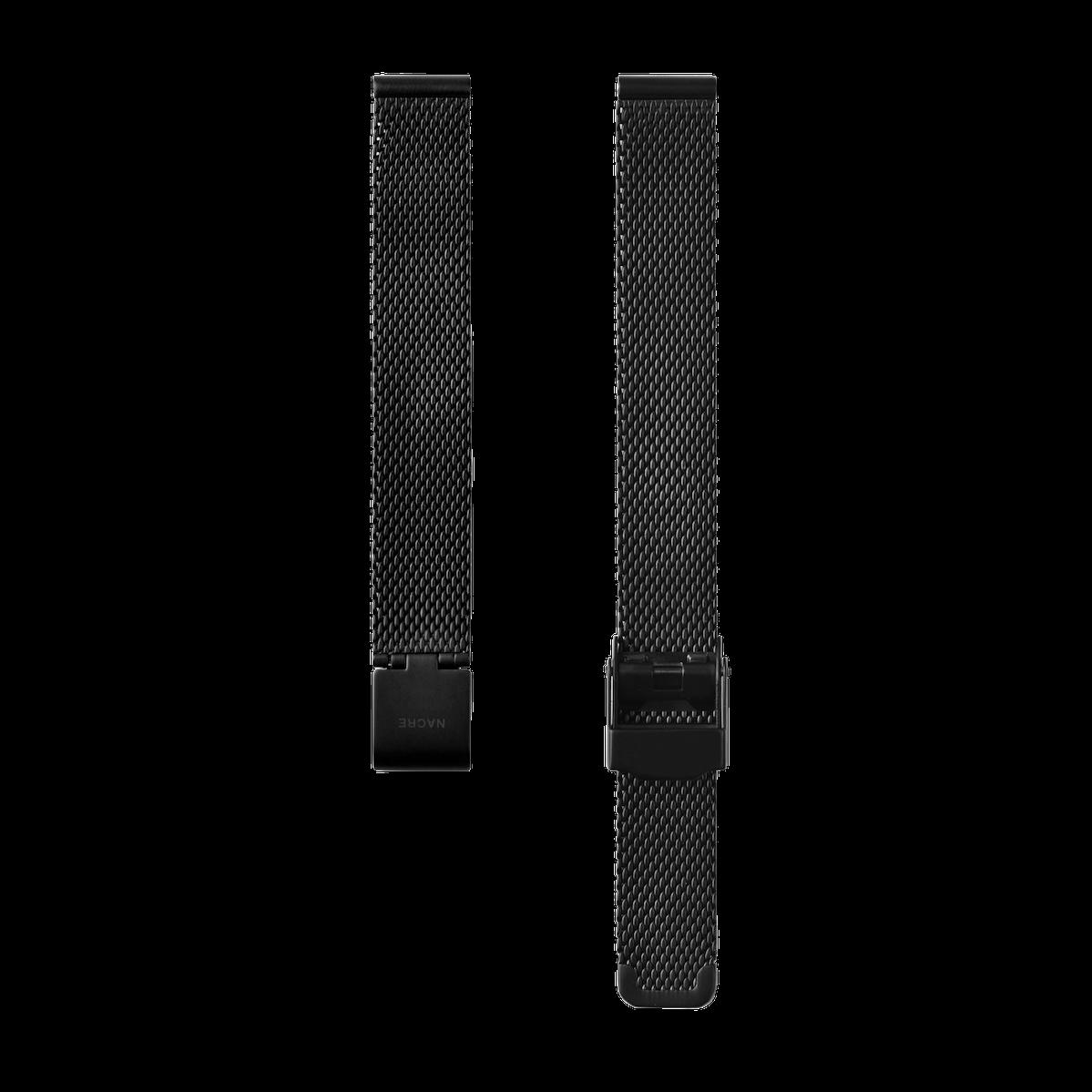 Strap - Mesh - Matte Black - 12mm