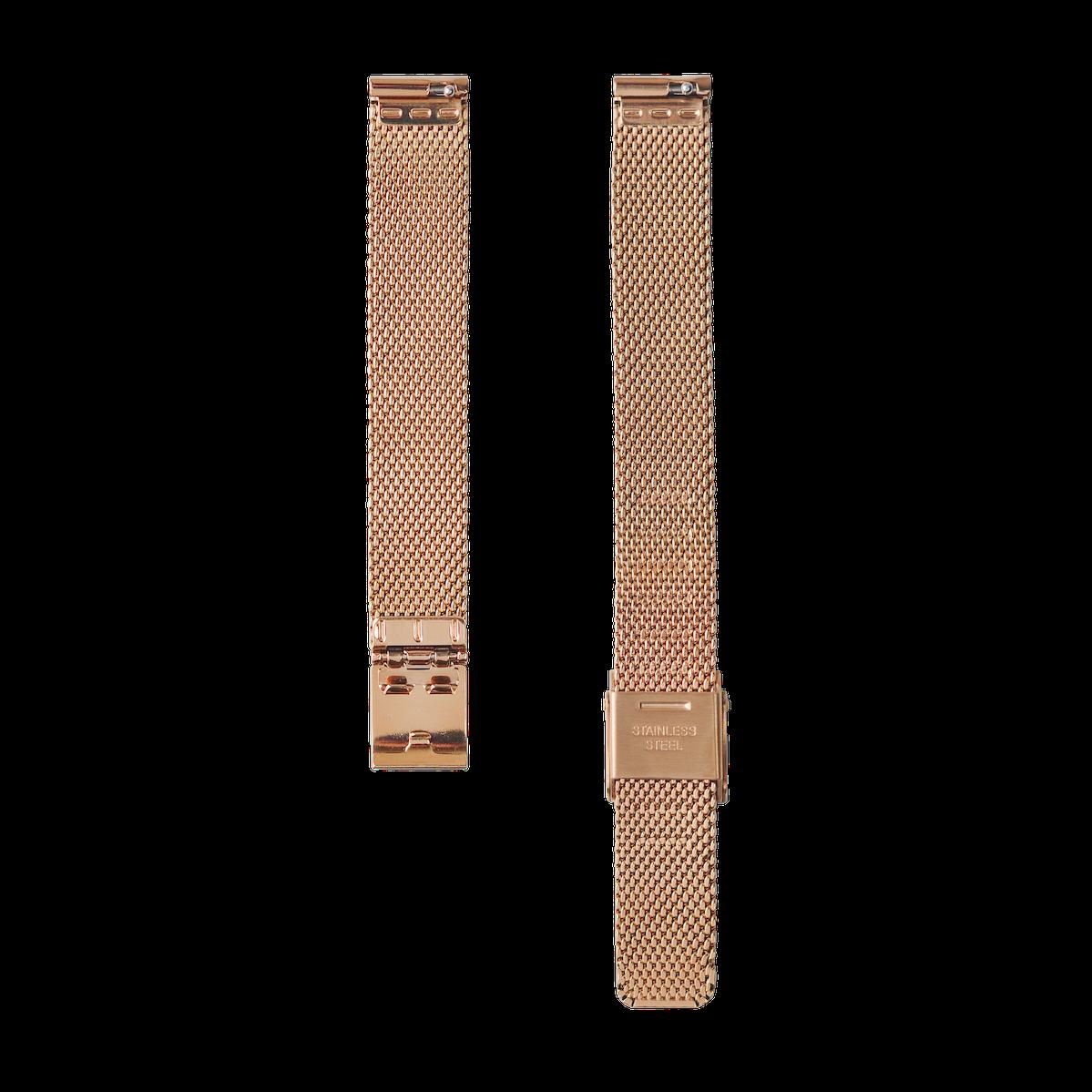 Strap - Mesh - Rose Gold - 12mm