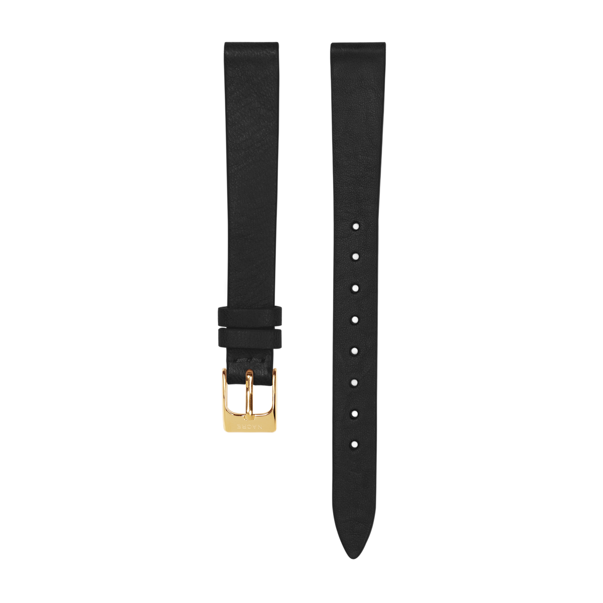 Strap - Italian Leather - Saddle Leather - Gold - 12mm