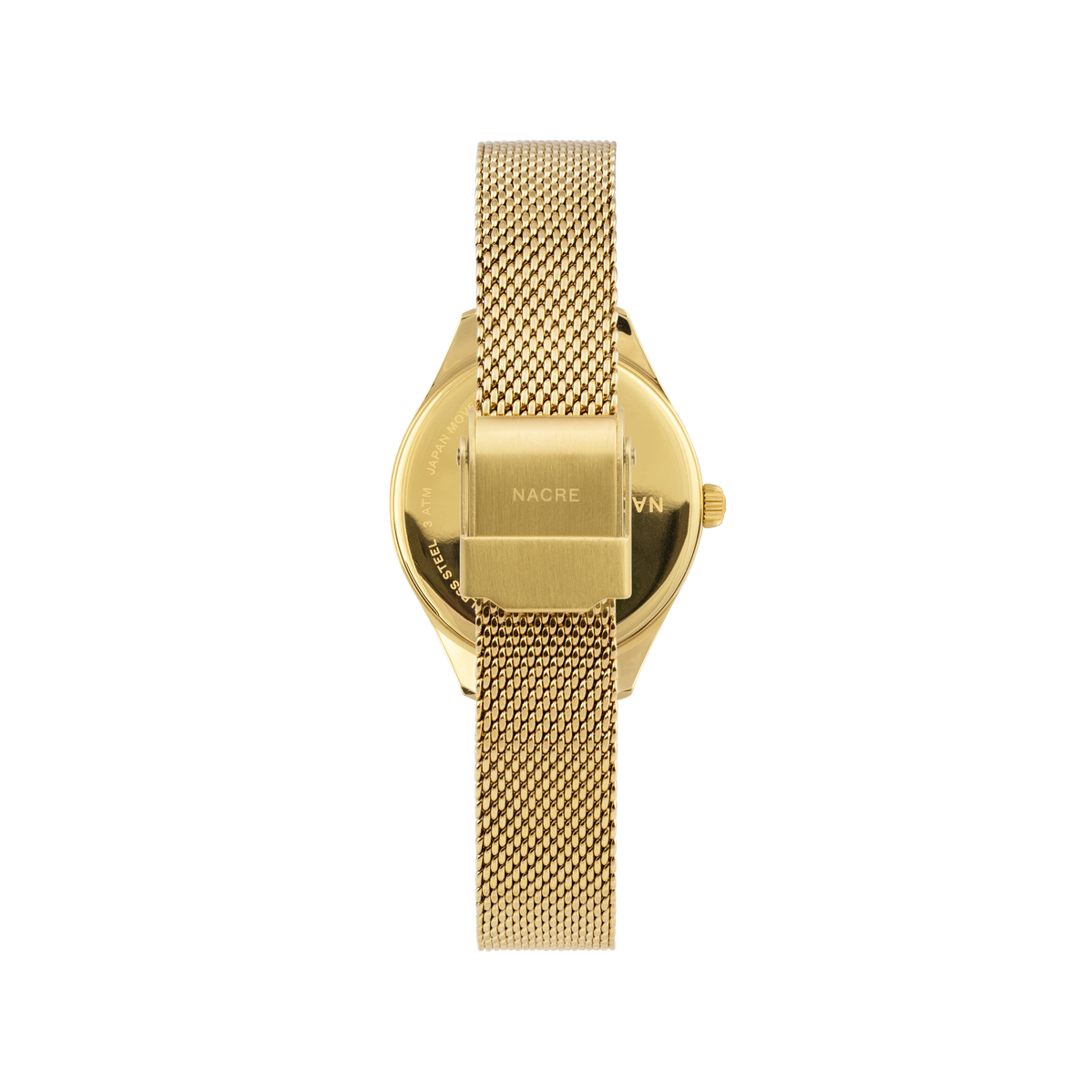 Mini Lune - Gold - Gold Mesh