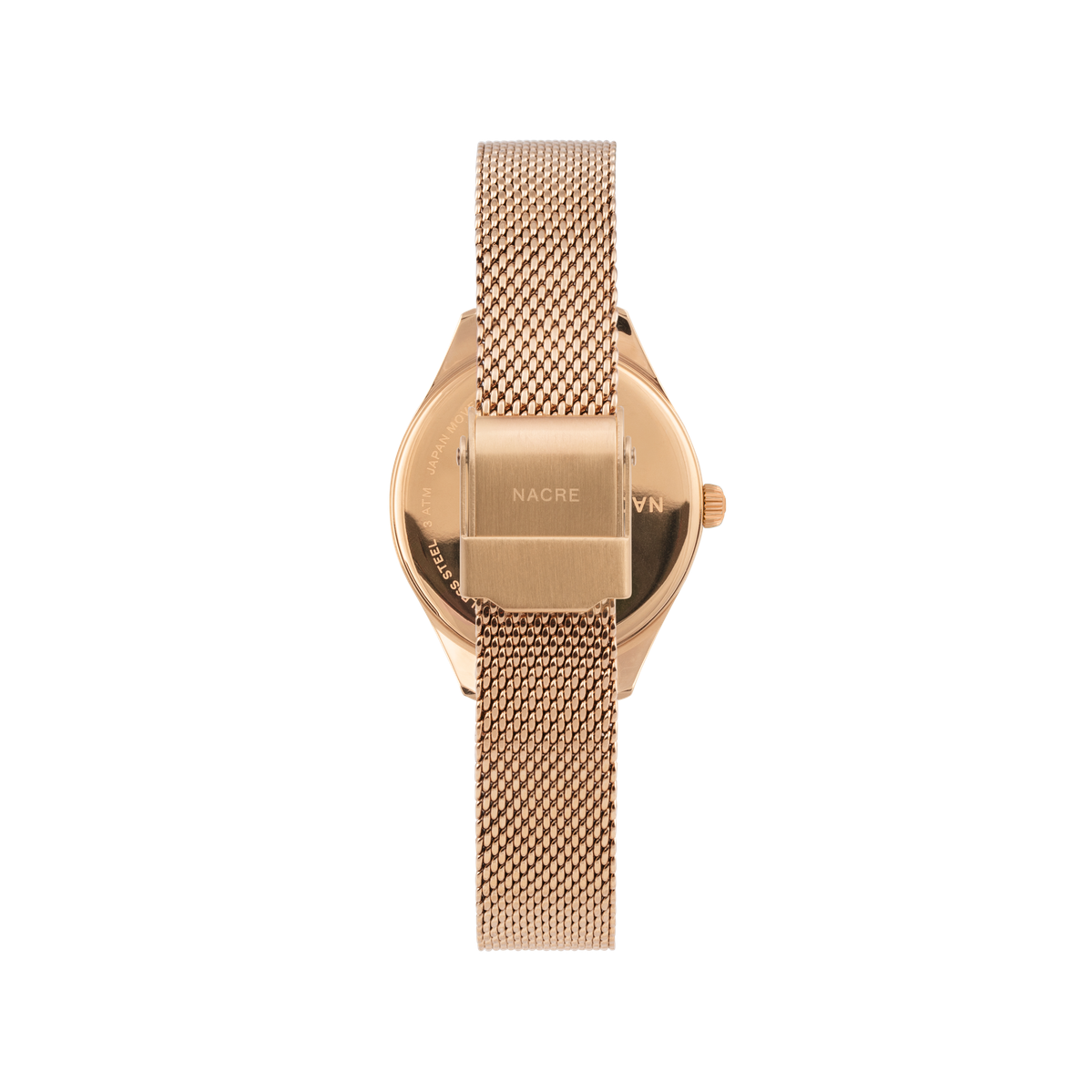 Mini Lune - Rose Gold - Rose Gold Mesh