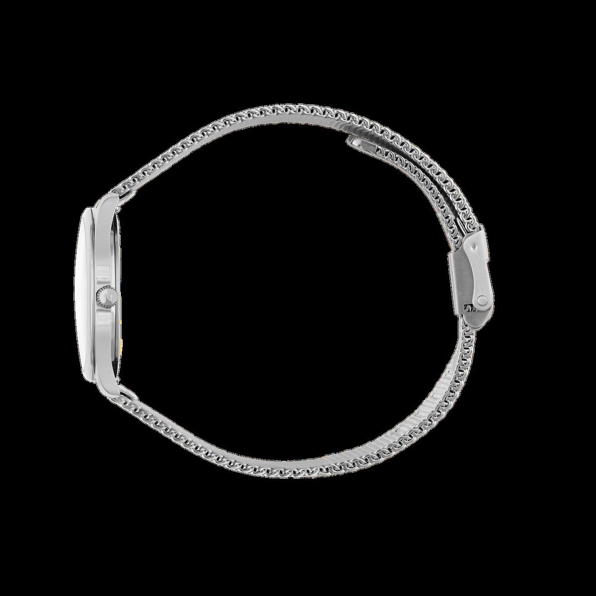 Mini Lune - Stainless Steel - Stainless Steel Mesh
