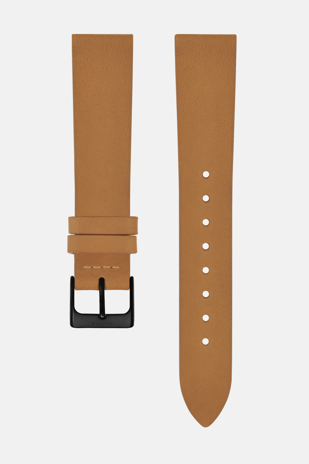 Strap - Italian Leather - Natural Leather - Matte Black