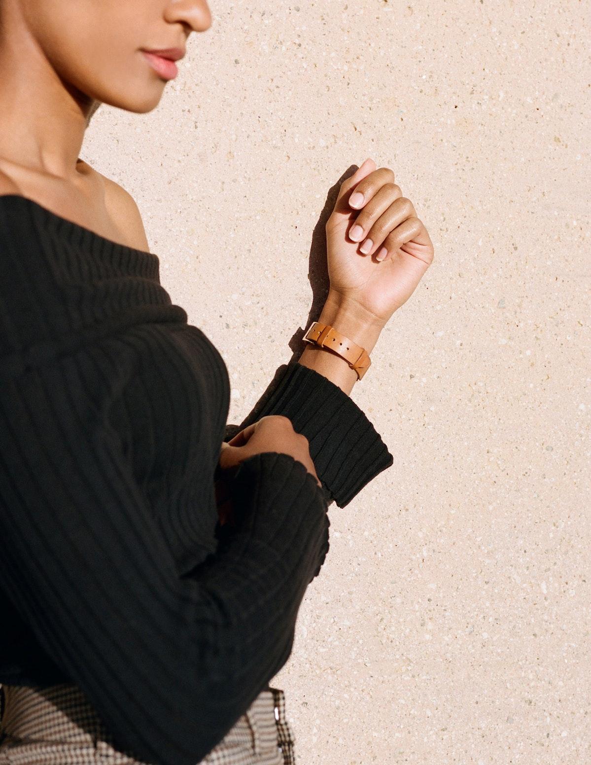 Strap - Italian Leather - Saddle Leather - Rose Gold