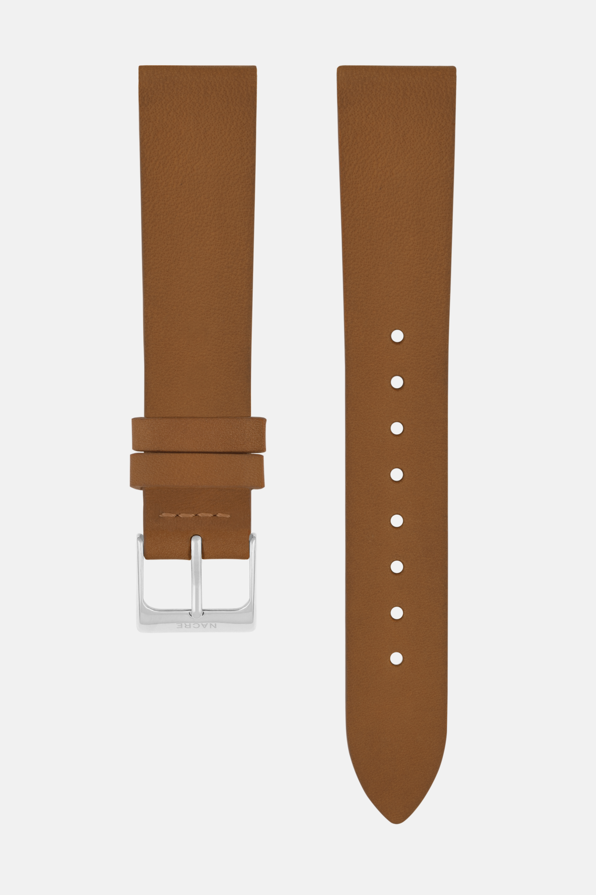 Strap - Italian Leather - Saddle Leather - Stainless Steel